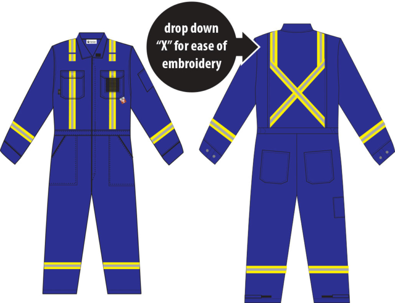 coverall-blue