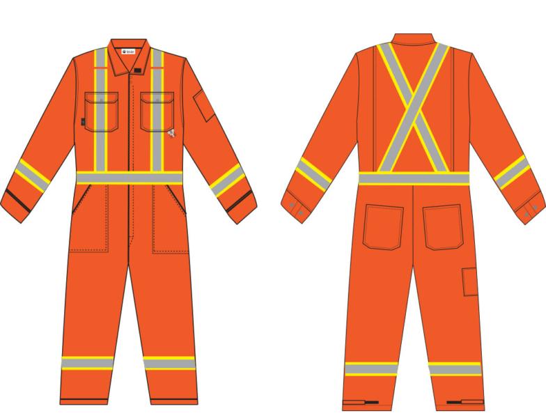coverall-orange