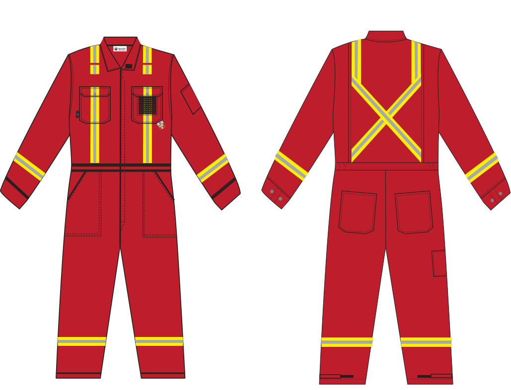 coverall-red
